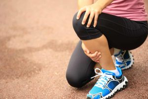 درد جلوی ساق پا