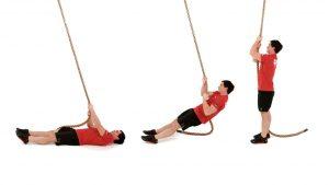 بالا رفتن از طناب مبتدی