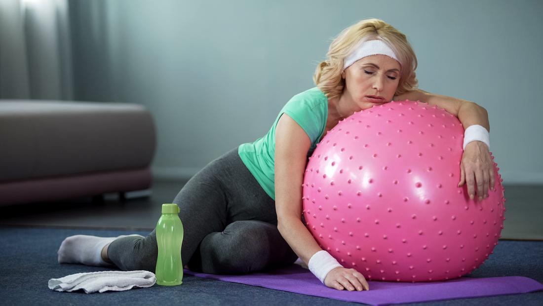 خستگی و ورزش