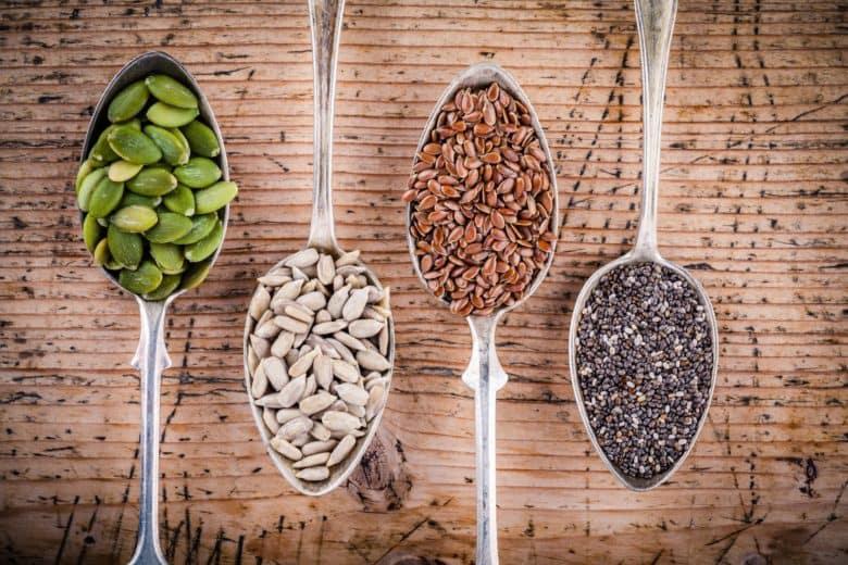 دانه های خوراکی منابع سرشار